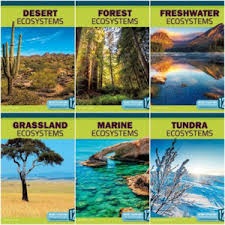 Nonfiction Books :: Earth's Ecosystems Spring 2018 Set of 6 Books